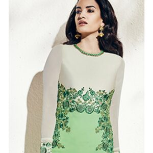 1002-B ROYAL GREEN NAIRRA BY NAKKASHI PARTY WEAR SUIT