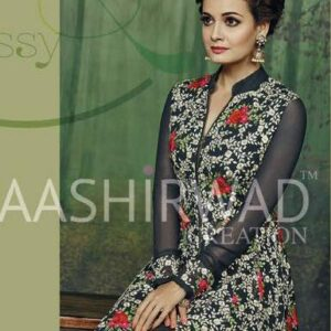 2002 FLORAL AASHIRWAD DIA MIRZA DESIGNER WEDDING WEAR SUIT